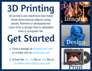 3D printing at Wilkes-Barre