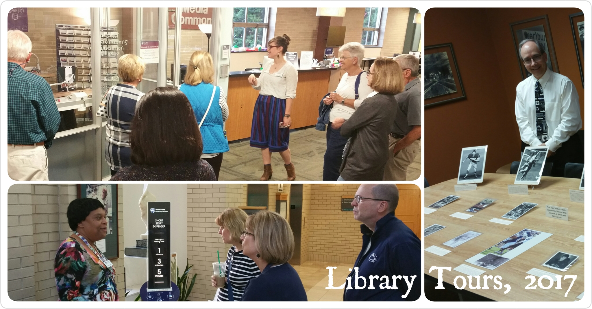Library Tours - 2017