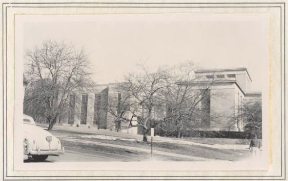 Historical photo - Pattee Library