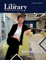 Cover - Spring 2021 Libraries Newsletter