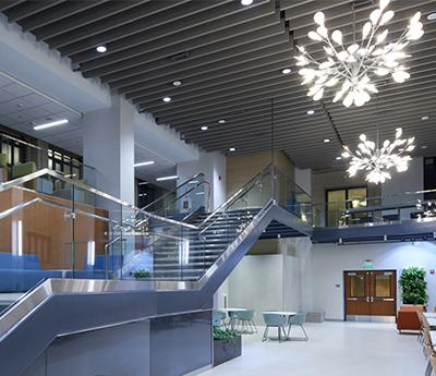 Collaboration Commons Central Atrium